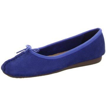 Clarks -  blau