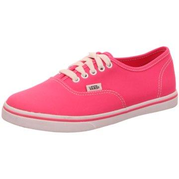 Vans -  pink