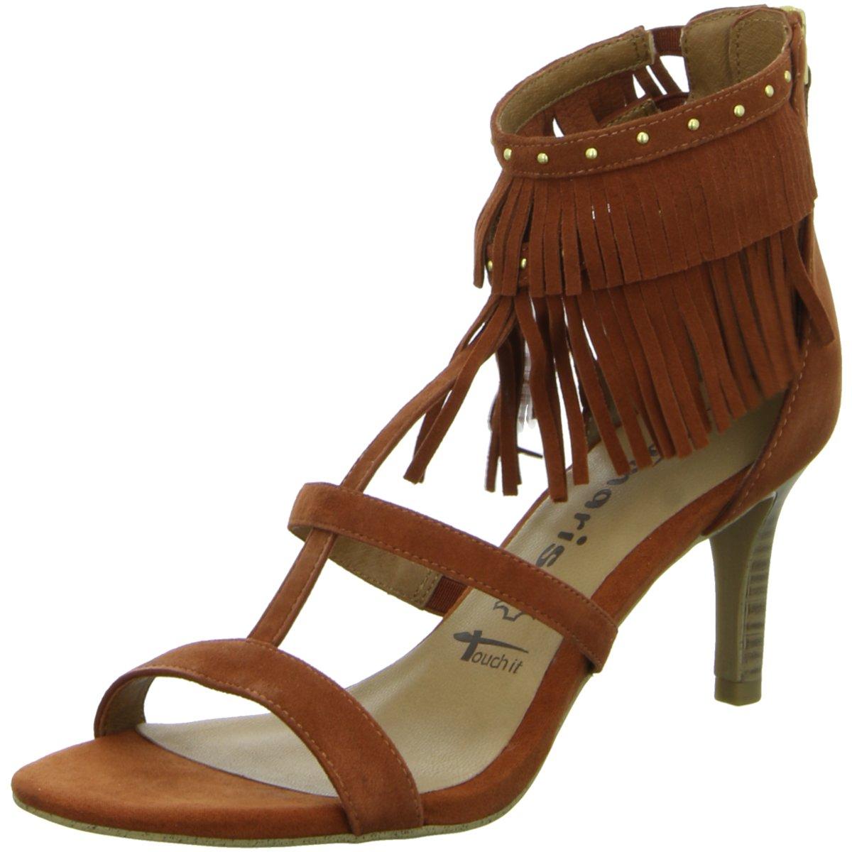 Tamaris Damen Sandaletten Sandalette eleganter Boden 1-28346-26//544 braun 133751