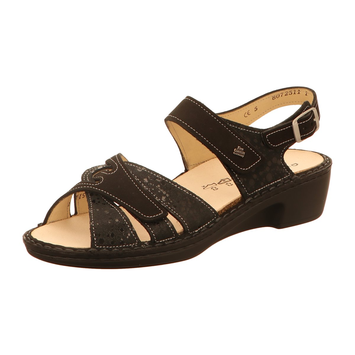 FinnComfort Damen Sandaletten BUKA 2687901672 schwarz 461110