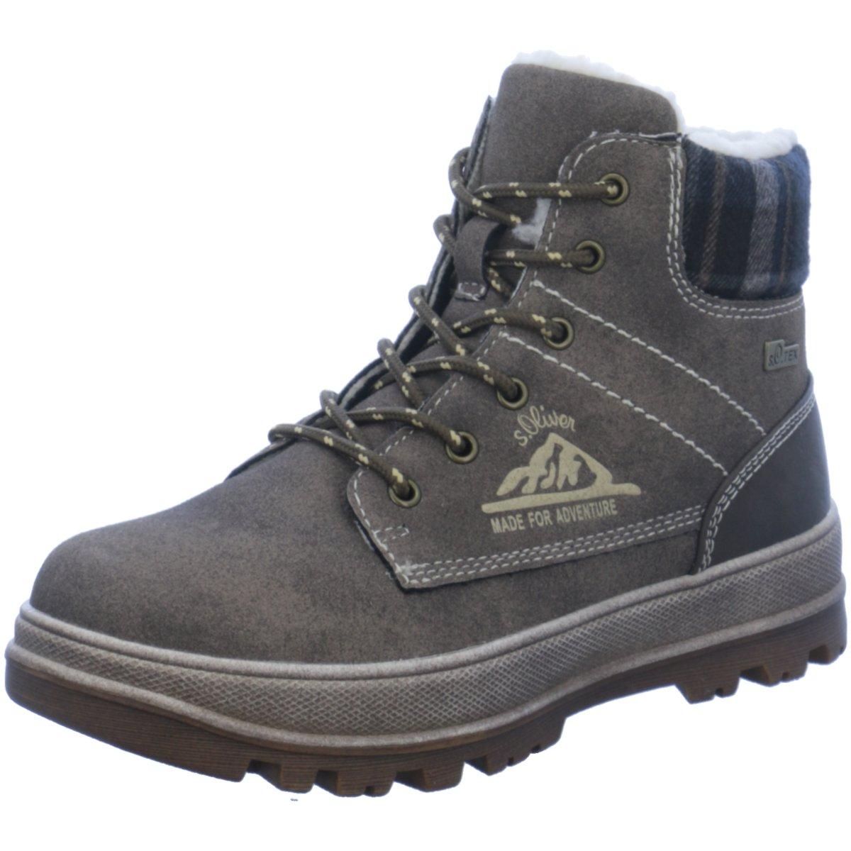 s.Oliver Kinder Schnuerstiefel Kids Boots 5-5-46107-29//324 braun 354570