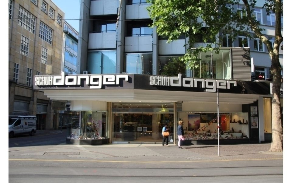 Schuhhaus Danger GmbH • Karlsruhe, Kaiserstraße 161