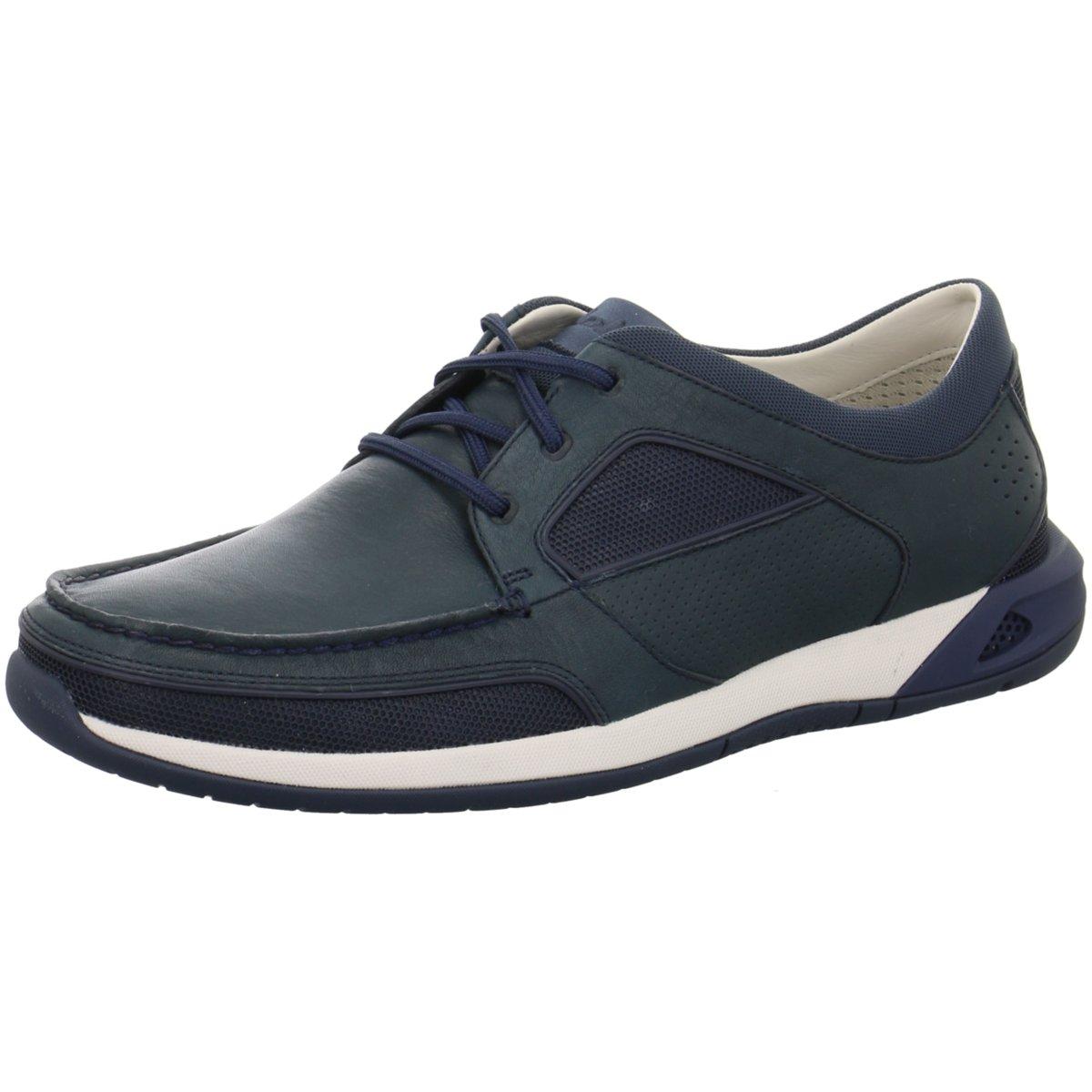 Clarks Herren Komfort Schnürhalbschuh Ormand Sail 261246117 blau 261421    | Neues Produkt