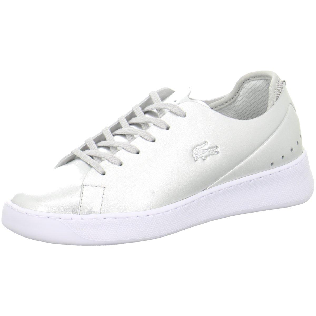 Sneaker 328423 Neu Damen Ebay Eyyla Silber Lacoste 734caw0011166 YPAEw