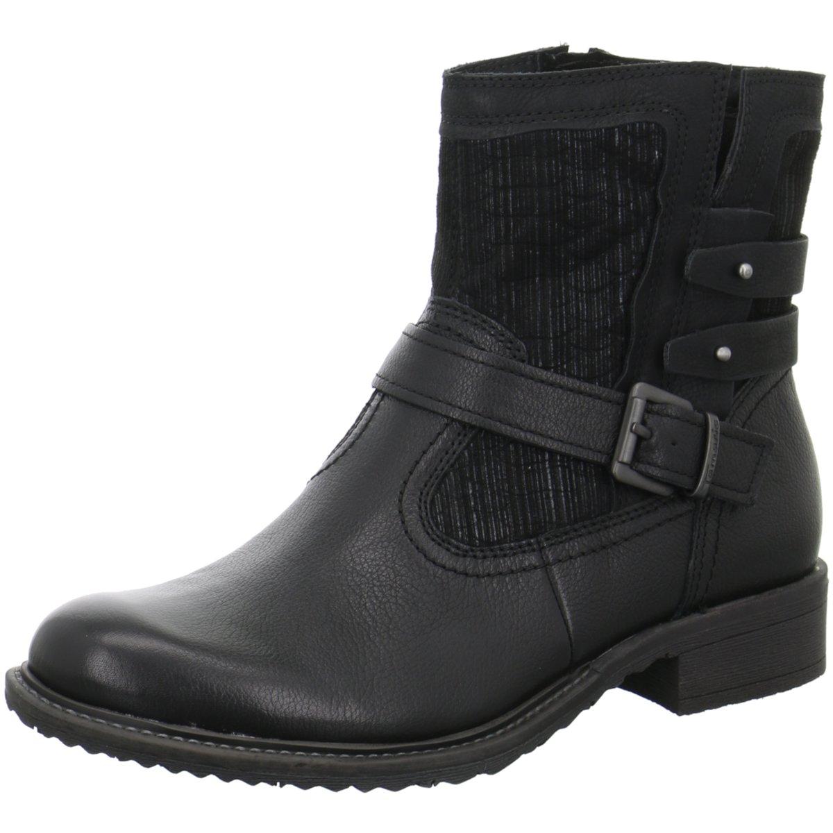 Tamaris Damen Stiefeletten Da.-Stiefel 1-1-25436-29 001 schwarz schwarz schwarz 340969  am billigsten