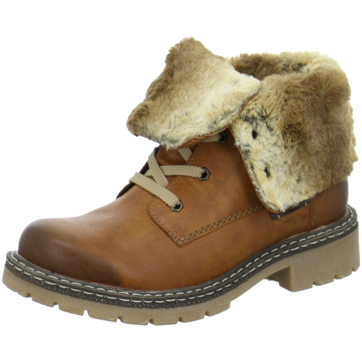 Rieker Damen Stiefeletten Sportlicher Stiefel Y1421-25 braun 179952