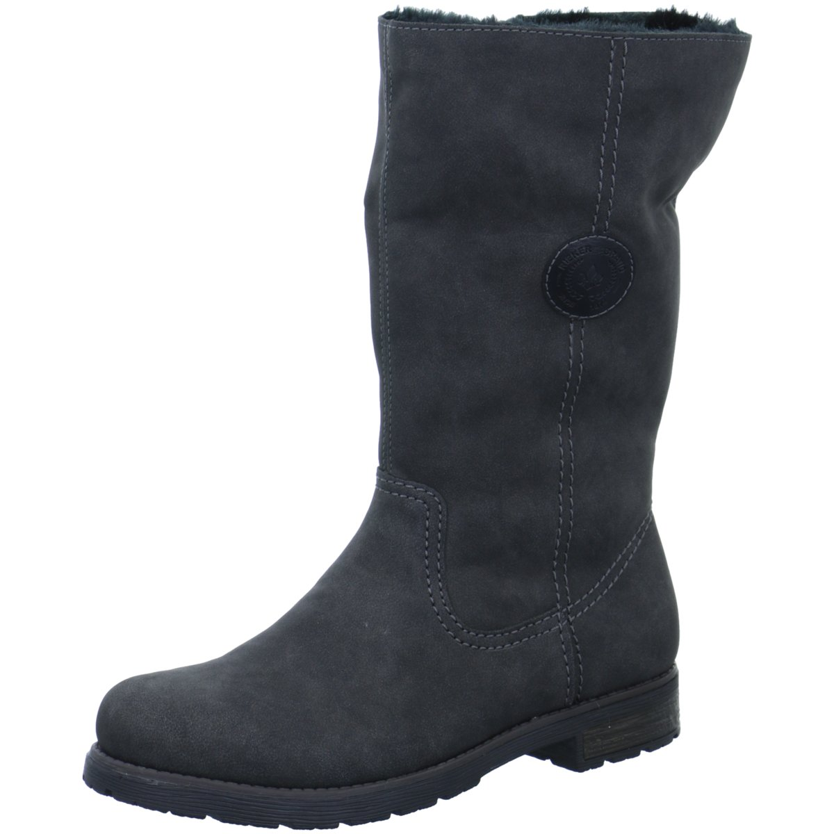 NEU Rieker Damen Stiefel 74490-46 grau 363276