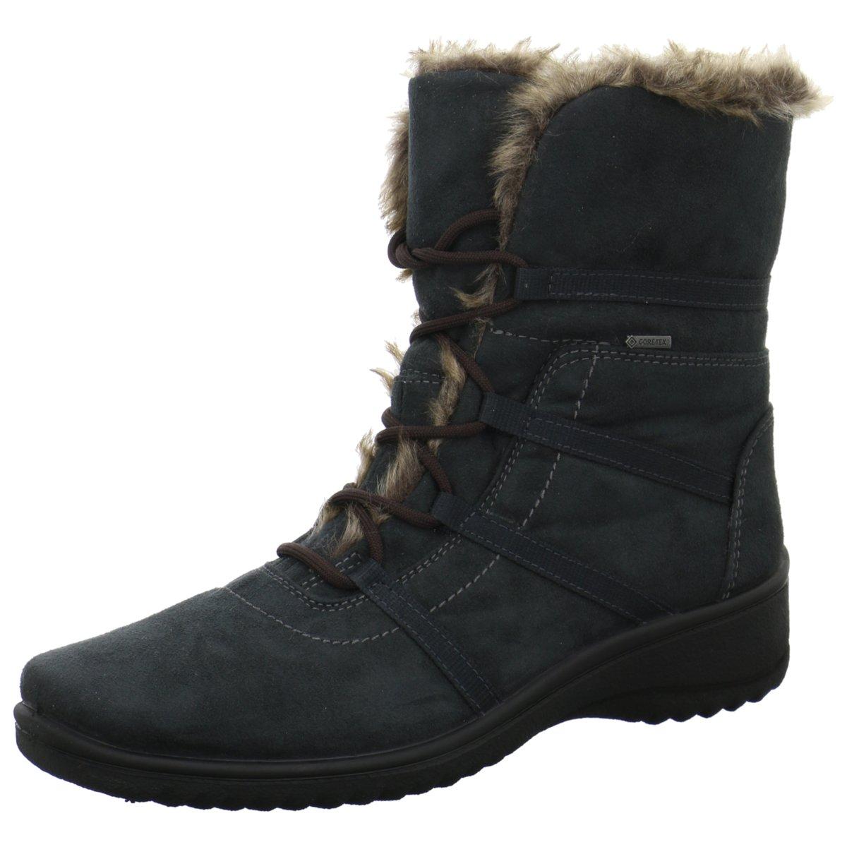 Damen Stiefel schwarz 90691 Schwarz DISCOMIX D GEOX