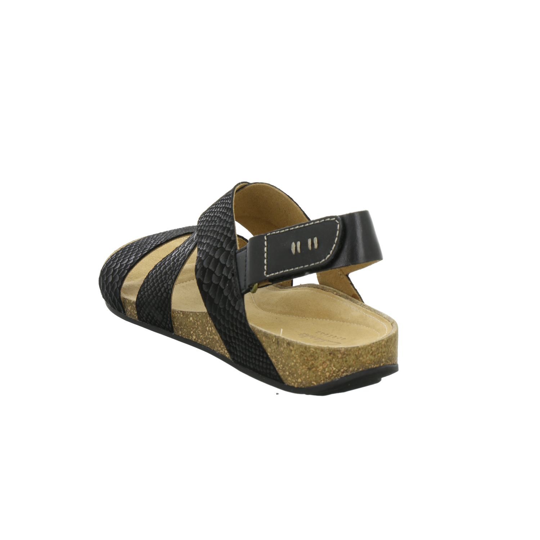 Clarks Damen Sandaletten PERRI DUNES 261058884 schwarz