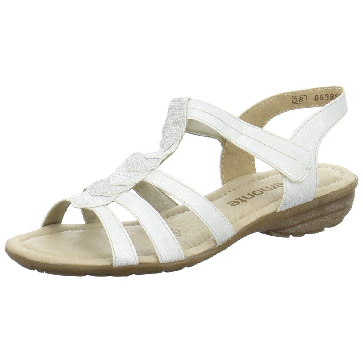 Remonte Damen Sandaletten R3637-80 weiß 272291