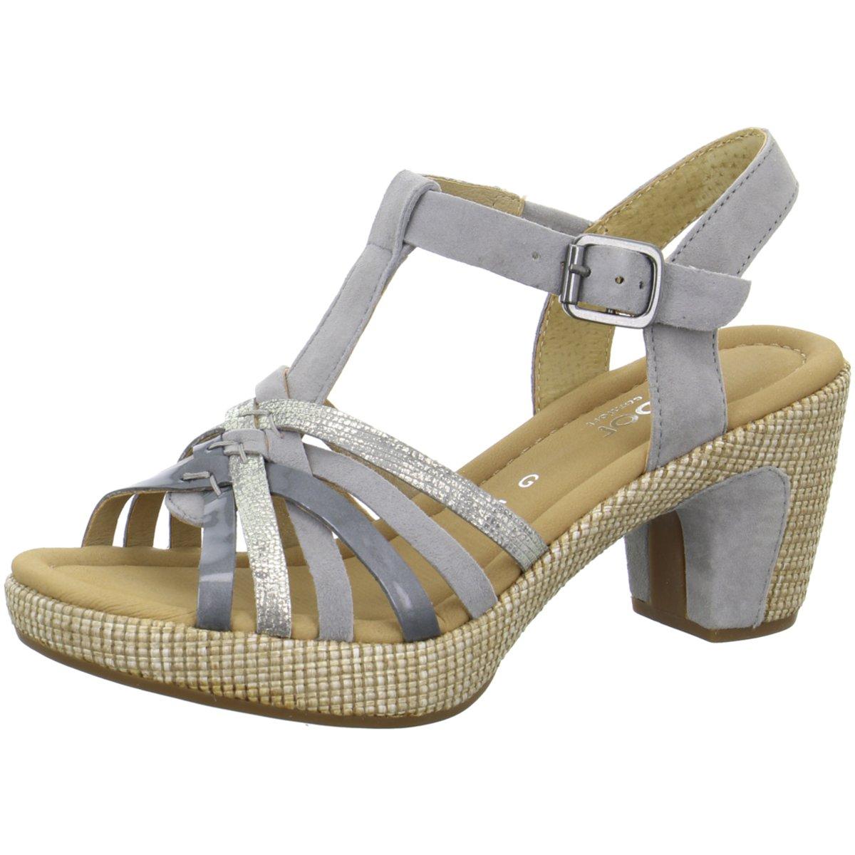 Gabor Shoes Damen Comfort Basic Pumps, 57 SchwarzSteel, 43