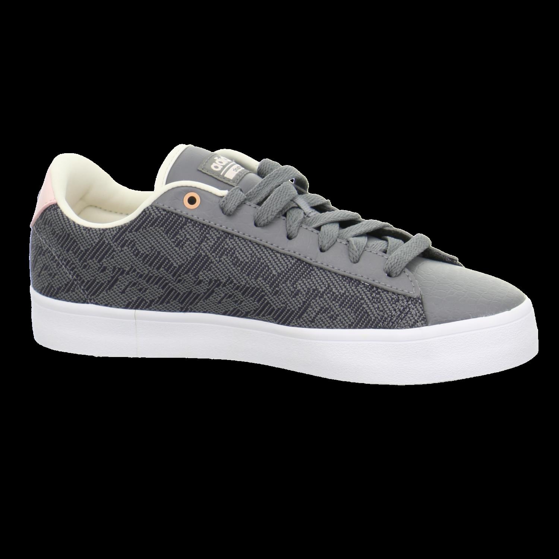 Details zu #S2K adidas Damen Sneaker Sneaker Low CF Daily QT CL W CG5754 grau 314079