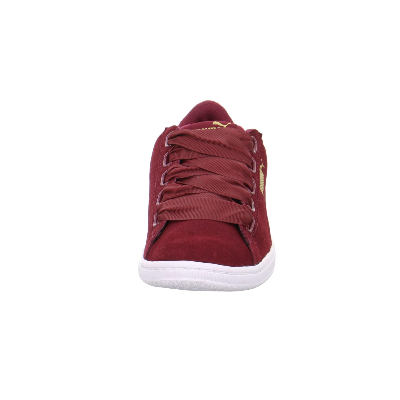 NEU Puma Damen Sneaker Vikky Ribbon ROT 364262/003 rot 317324