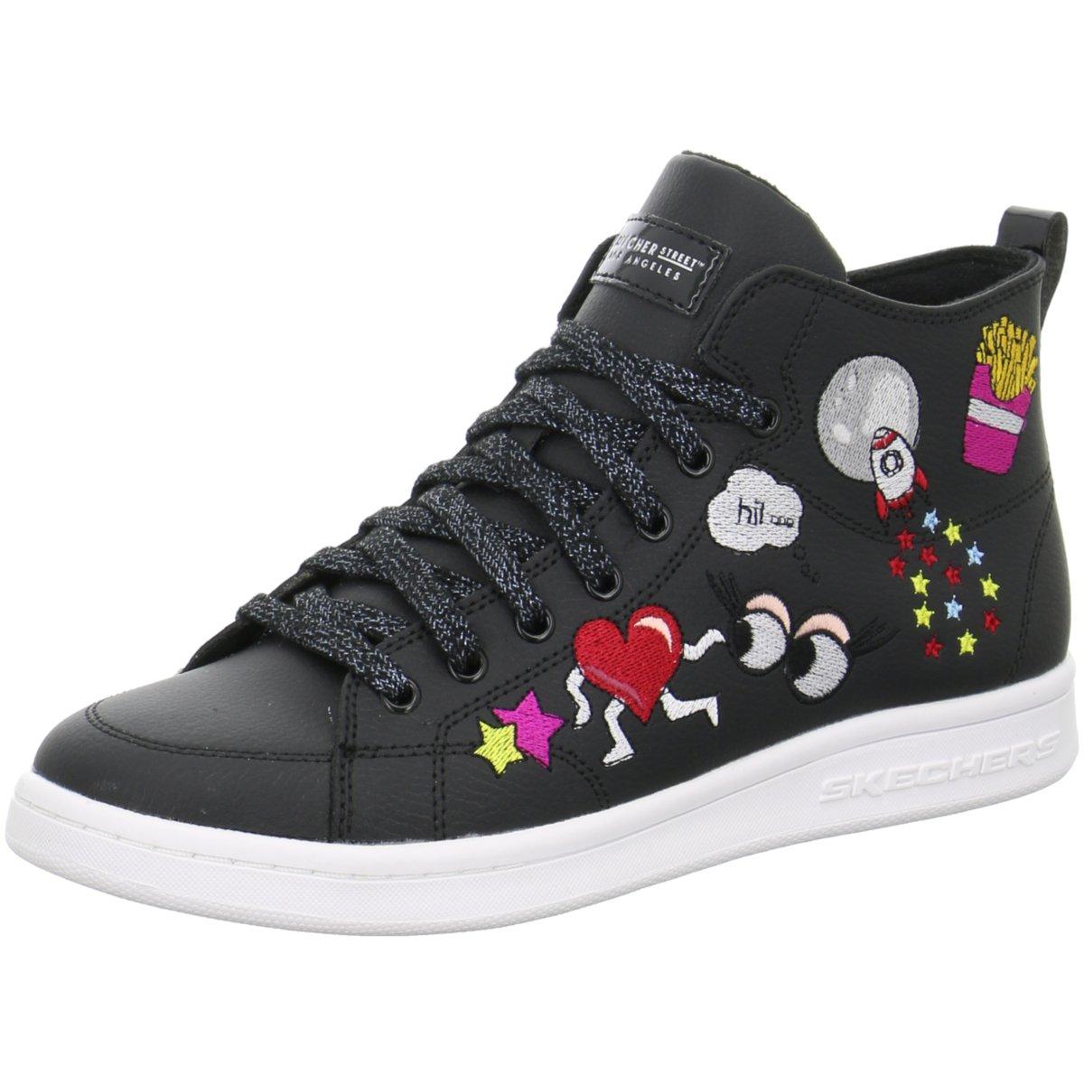 Skechers Damen Sneaker 732-BLK Schwarz 339131