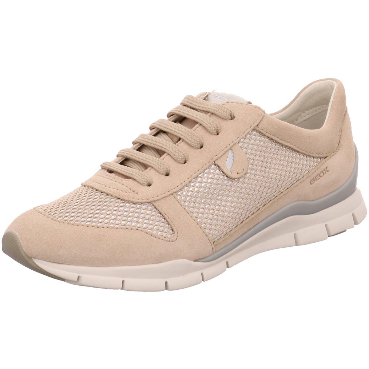 free shipping 70c17 01fe5 Details zu Geox Damen Sneaker D52F2A-022GN-C8182 skin beige 240565