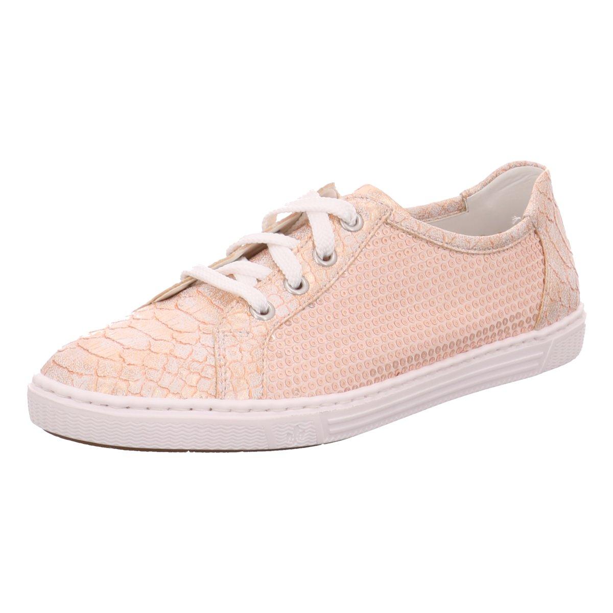 Rieker Damen Sneaker rosa L0900 31
