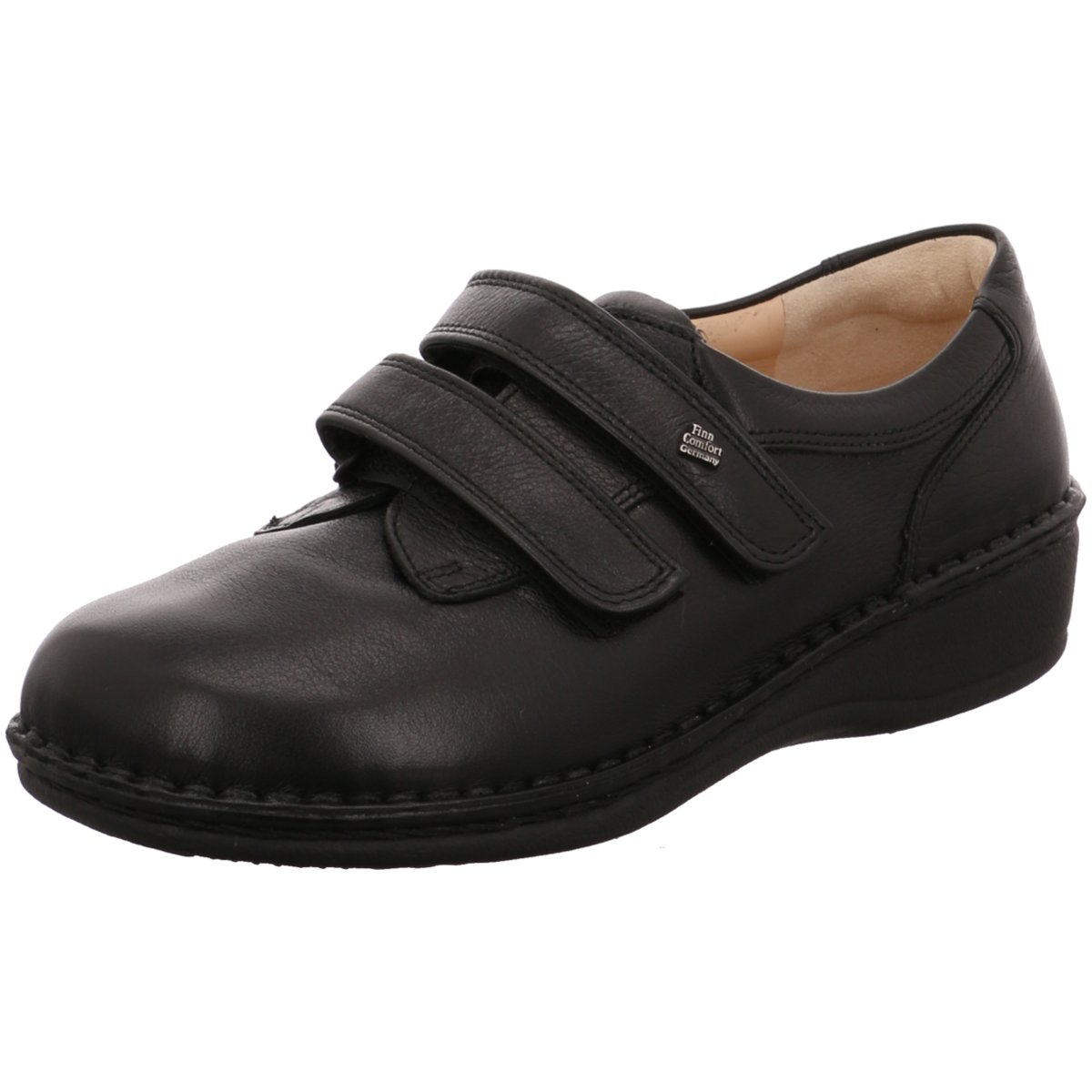 NEU FinnComfort Damen Slipper Prophylaxe Schuh 96102 schwarz schwarz 169627