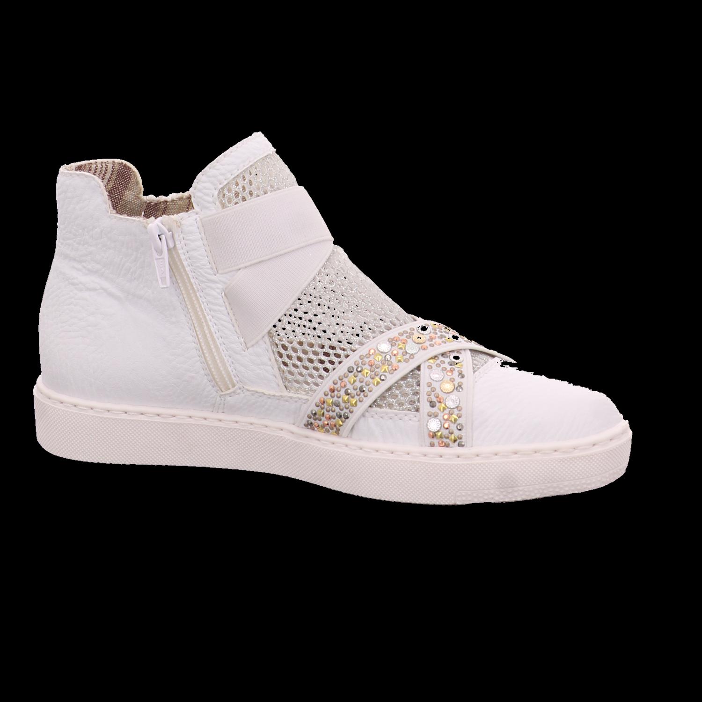 NEU Sneaker Rieker Damen Sneaker NEU Schlupf/Reißverschlussstiefelette Kaltfutter Y7980-80 2f4082