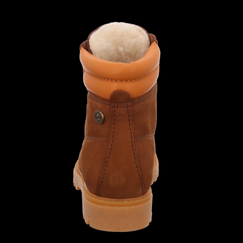 Panama Jack Damen Stiefeletten Nobuck Cuero Bark Bark Bark Panama 03 Wool B18 braun 560851   7c8e15