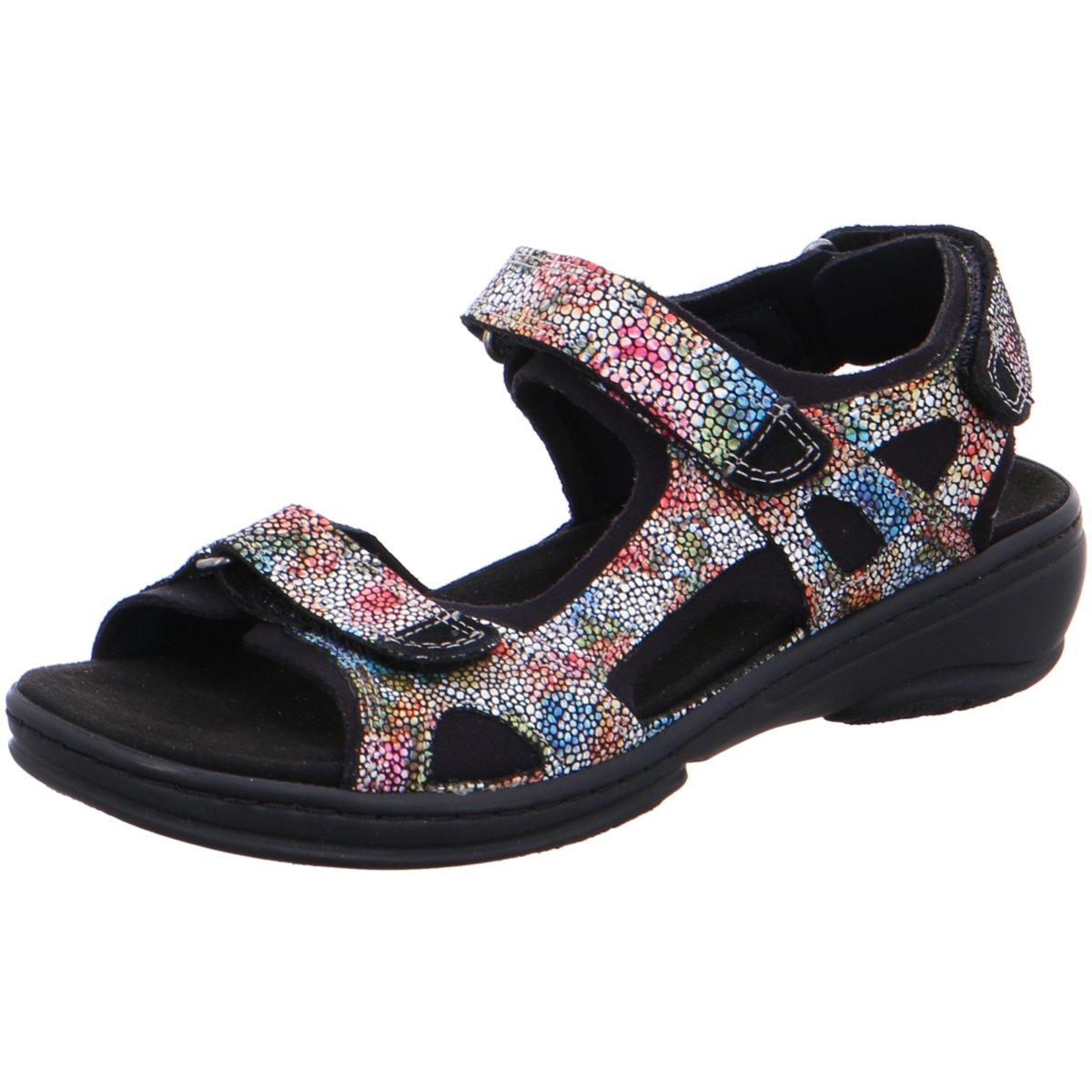 Fidelio Damen Sandaletten 445007-91 bunt 396654  | Schöne Farbe