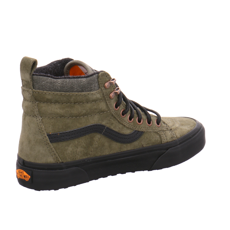 Details zu Vans Atwood Canvas Herren Schuhe Freizeit Sneaker 42 US9 Black SJ017 Printed Fox