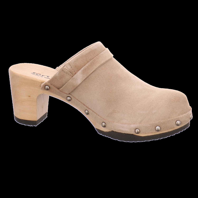 NEU Softclox Damen Pantoletten S3266 NATURGRAU beige 294957