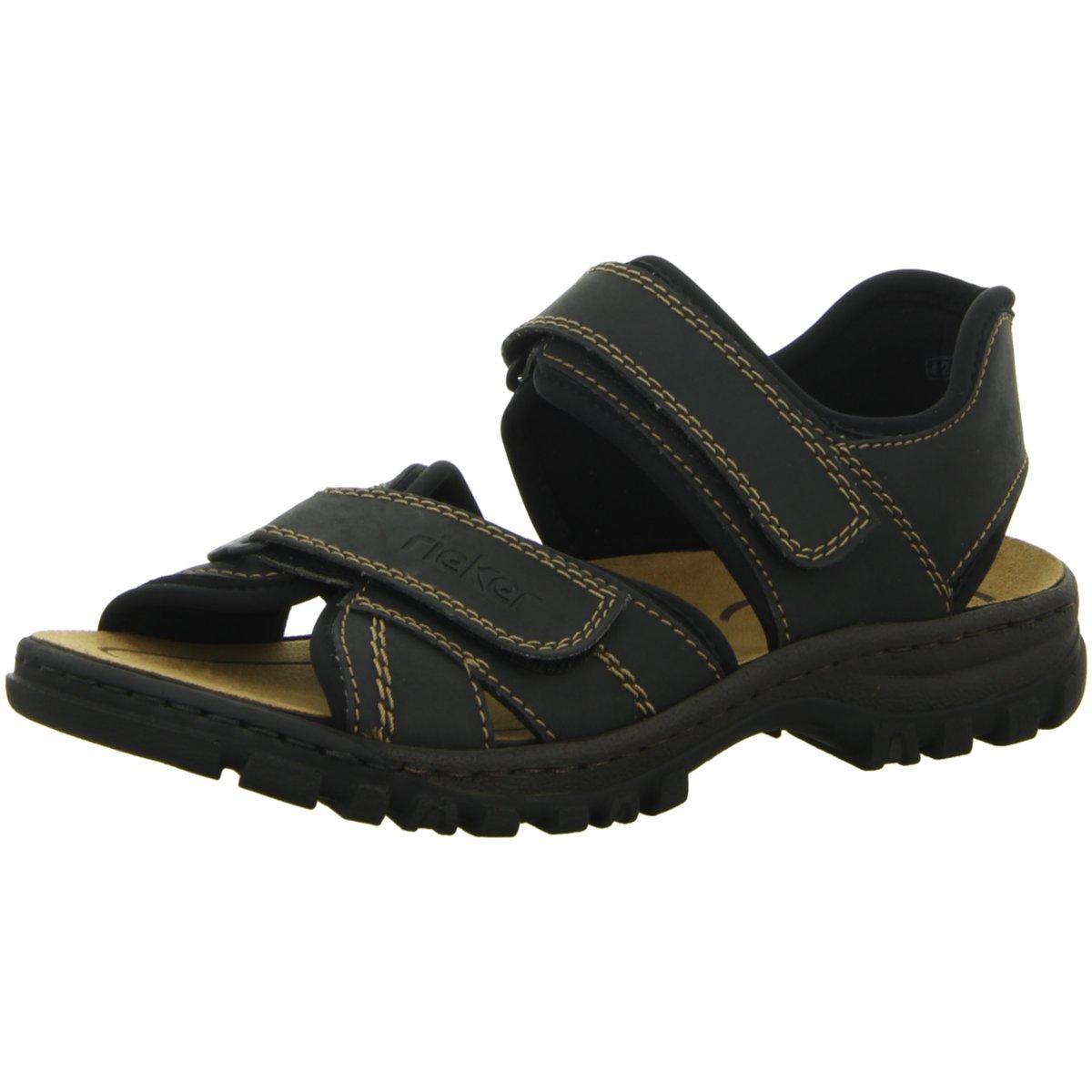 Rieker Herren Offene Sandalette 25051-01 grau 133720  | eine breite Palette von Produkten