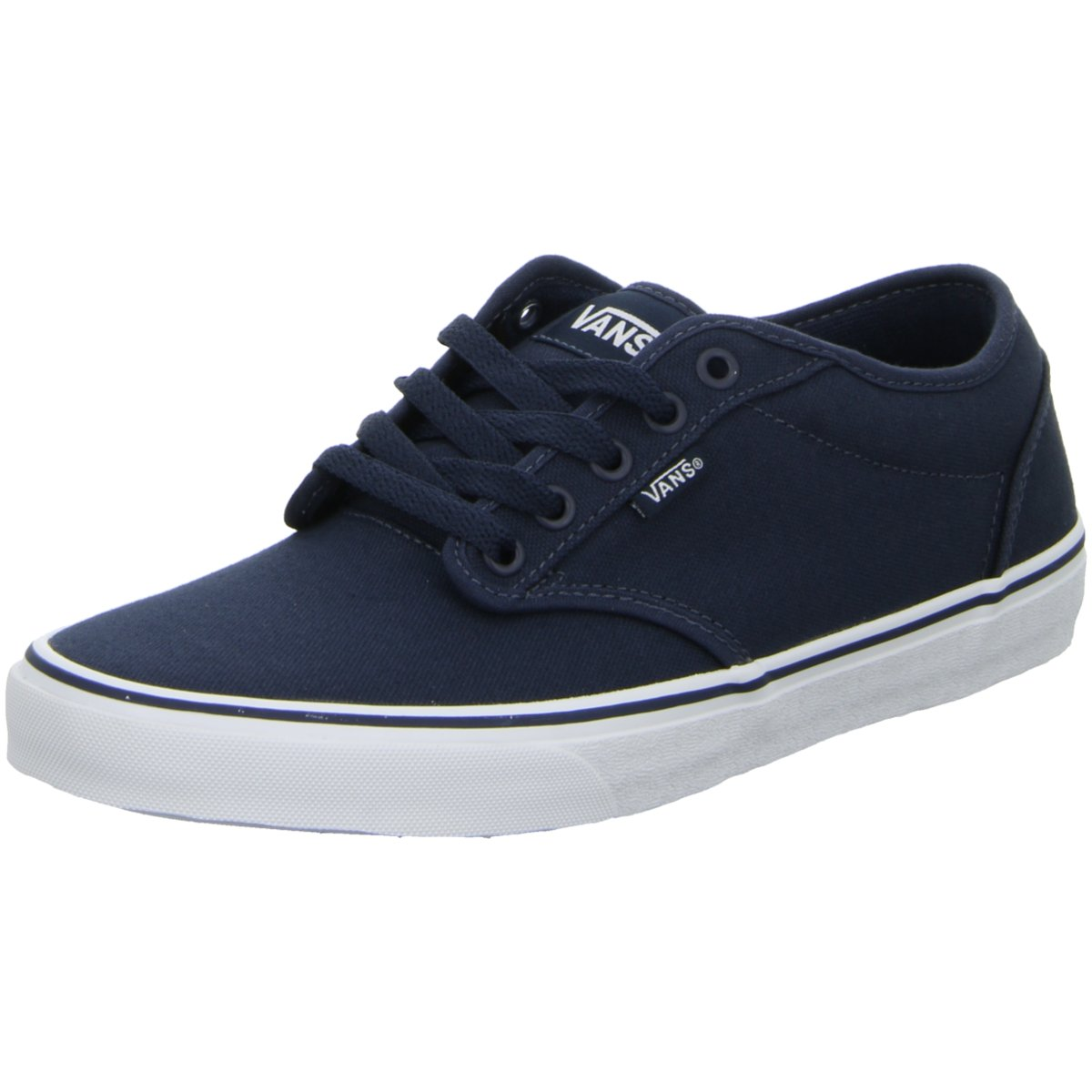 NEU Vans Herren Sneaker Leinen Schnürhalbschuh Atwood VN000KC44K1 blau 132452