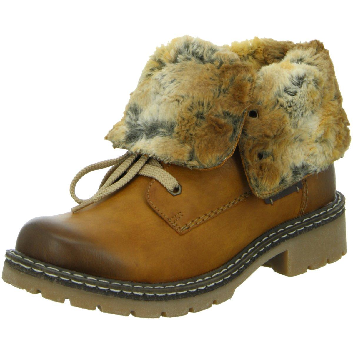 Rieker Damen 70562 Kurzschaft Stiefel