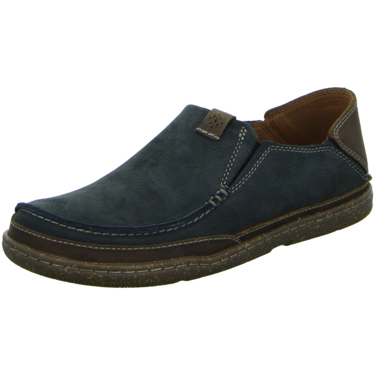 NEU Clarks Herren Slipper Slipper Halbschuh Trapell Form 26115059 7 090 blau