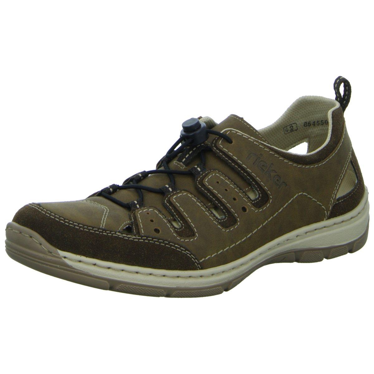 NEU Rieker Herren Schnuerschuhe oder Sandalette Ferse geschlossen sportlicher oder Schnuerschuhe 799f1e