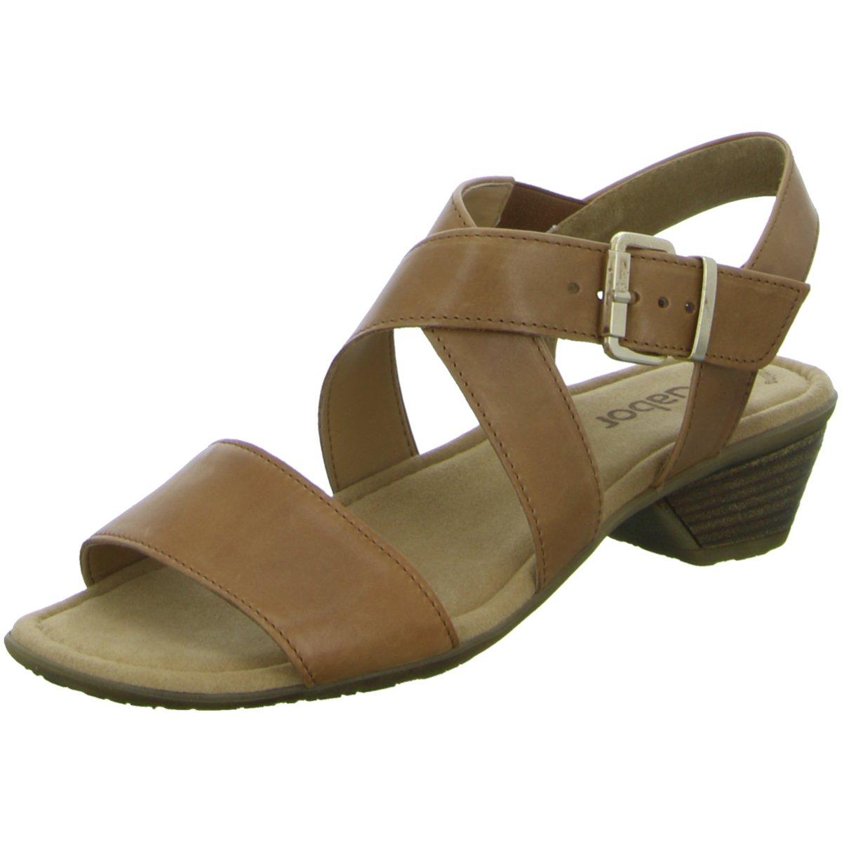 Das Bild wird geladen NEU-Gabor-Damen-Sandaletten -Sandalette-eleganter-Boden-Casual- 914f07fc8f