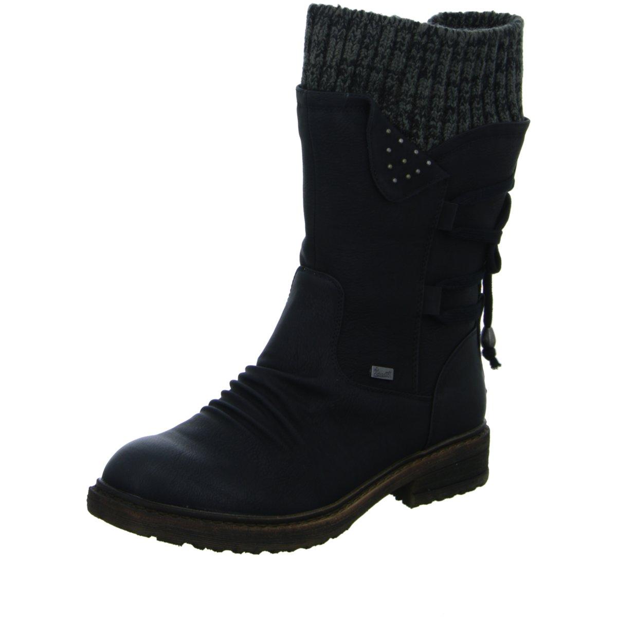 Rieker Damen Stiefel 94773-00 schwarz 355520