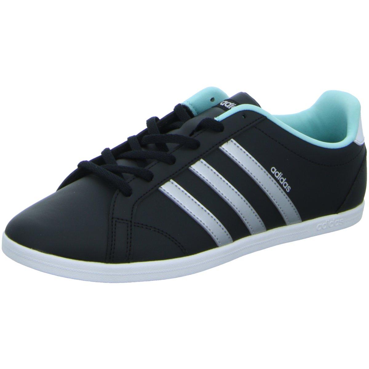 Adidas Damen Schuhe VS Coneo QT DB0126 Sneaker Turnschuhe Schwarz Weiß