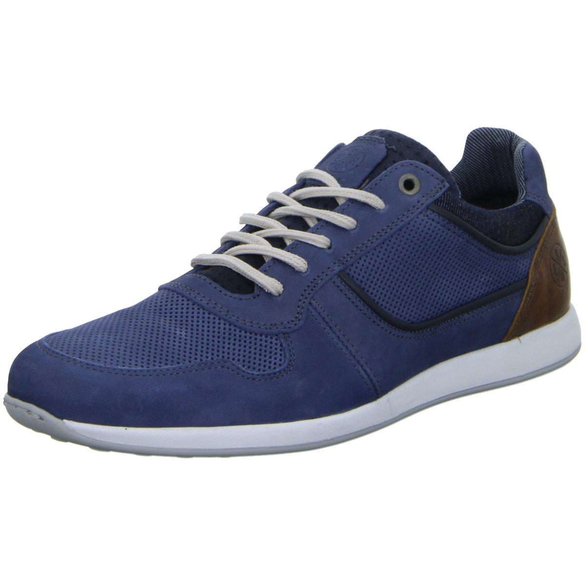 NEU Bullboxer Herren Sneaker Schnürhalbschuh 132K26343APRBCSU40 blau 407012