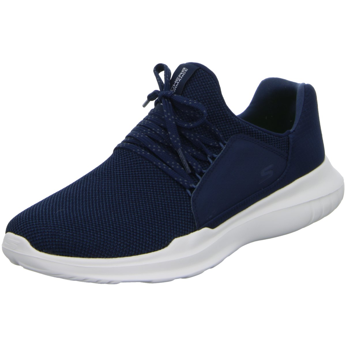 2efe5c204a Das Bild wird geladen Skechers-Herren-Sneaker-Slipper-Halbschuh-Go-Run-Mojo-