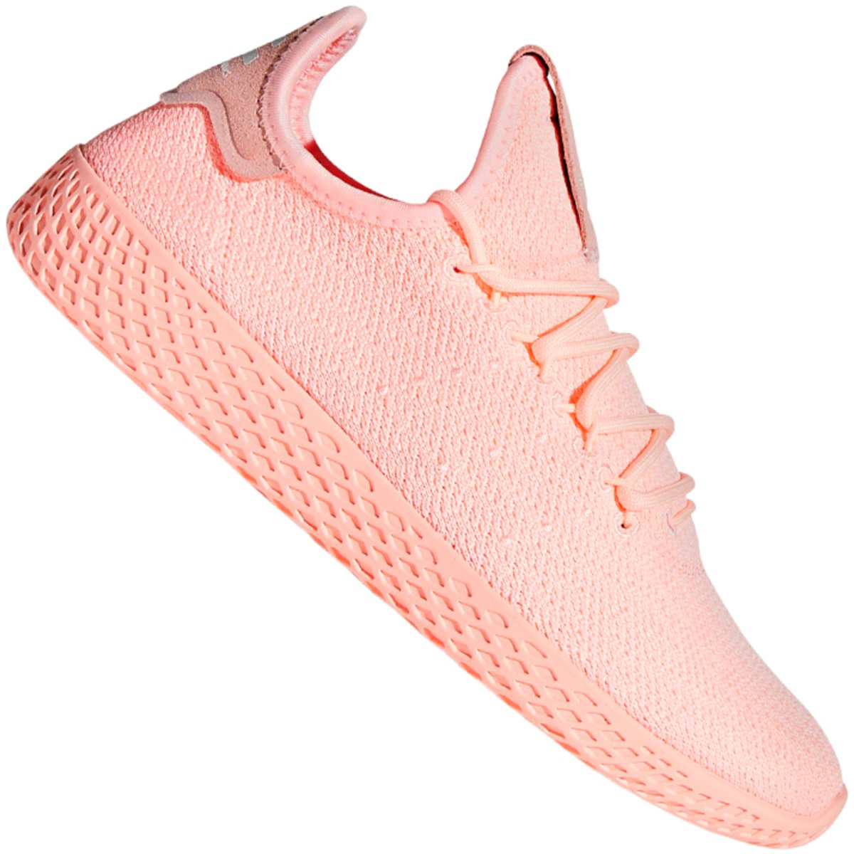 Details zu #S2K adidas Originals Damen Sneaker Pharrell Williams Tennis Hu  D96551 rosa