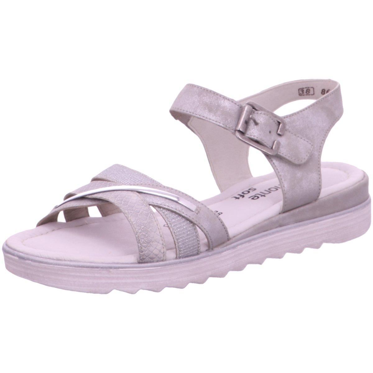 Remonte Damen Sandaletten D1151-90 grau 324305