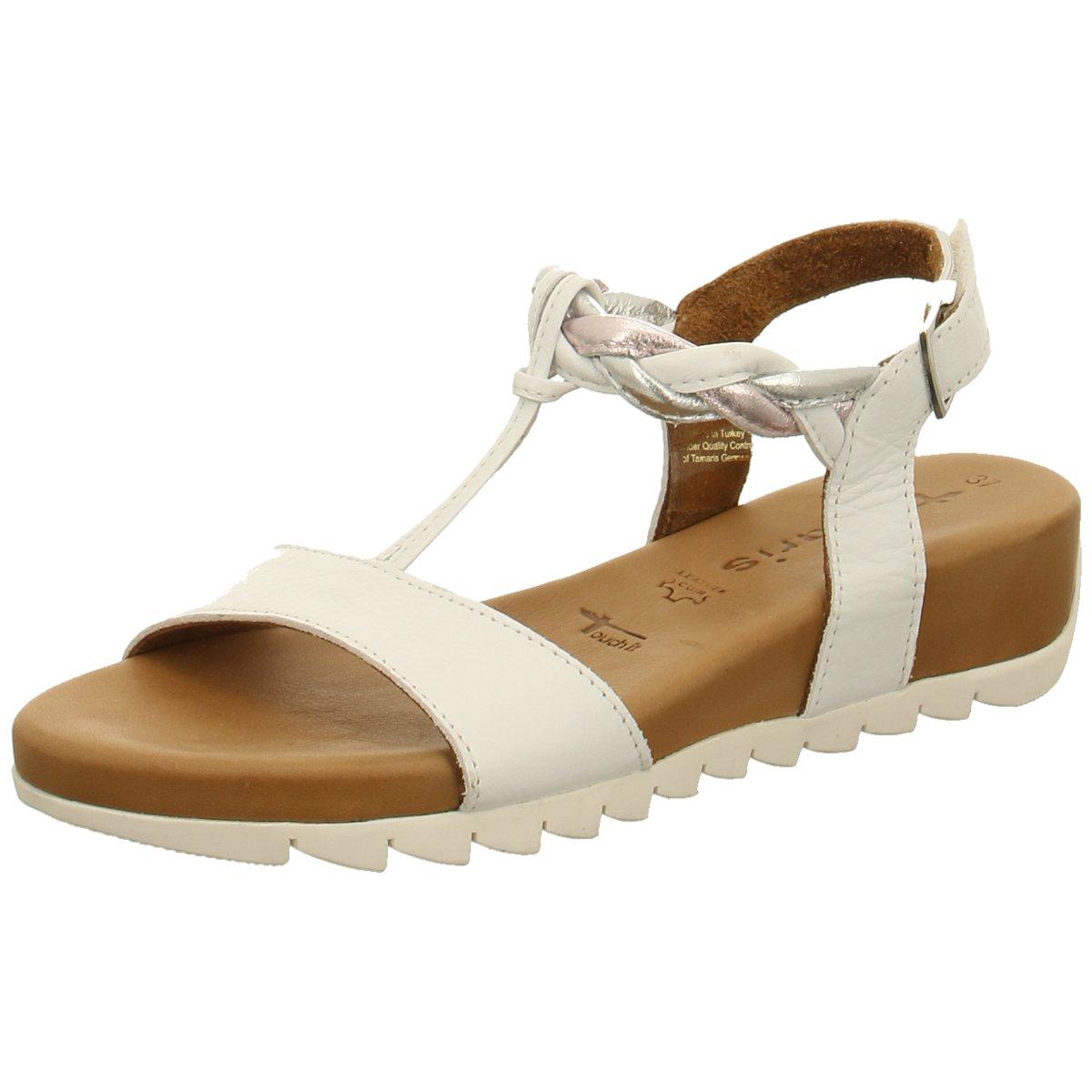 Details zu Tamaris Damen Sandaletten Weiße Sandale 28709 197 weiß 710252