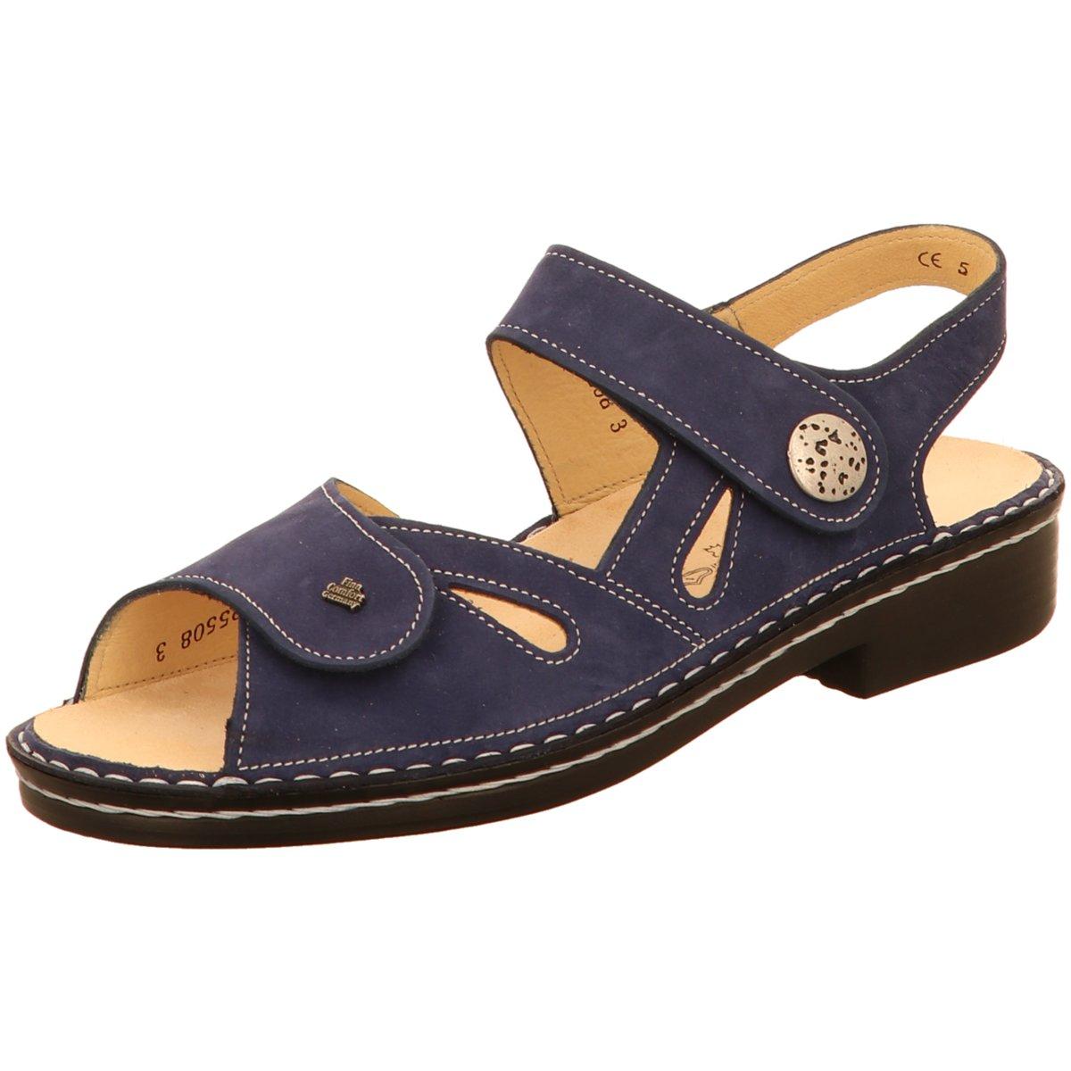 FinnComfort Damänner Sandaletten Costa (blau) Sandale mit