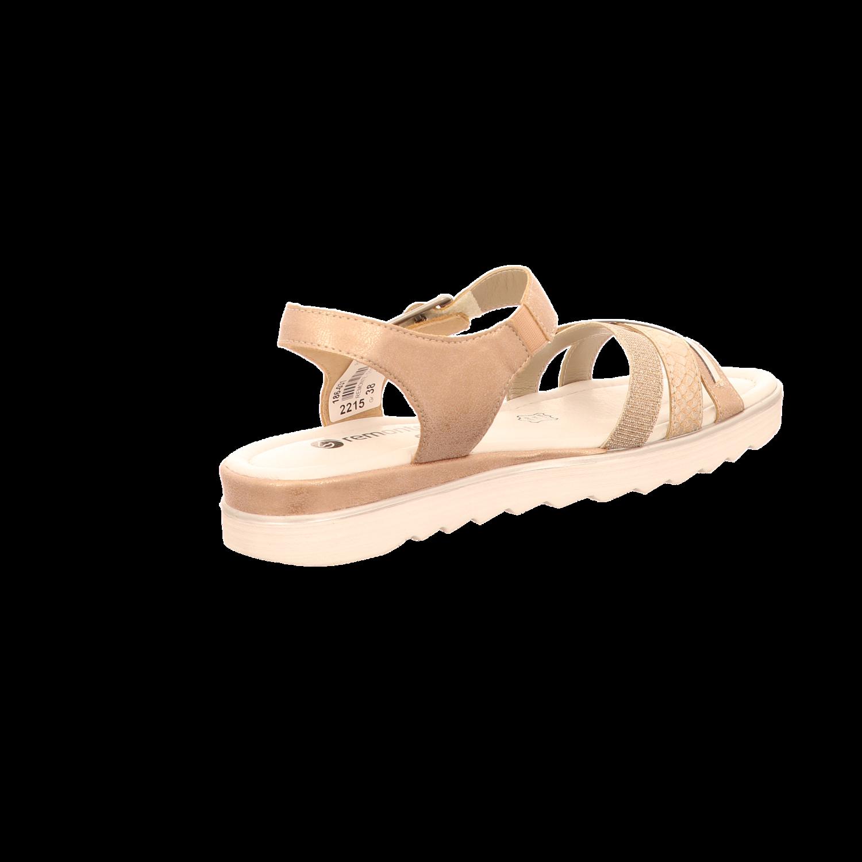 Beige Remonte 31 Damen Sandalette Sandaletten Komfort 405962 D1151 FqFYPwr