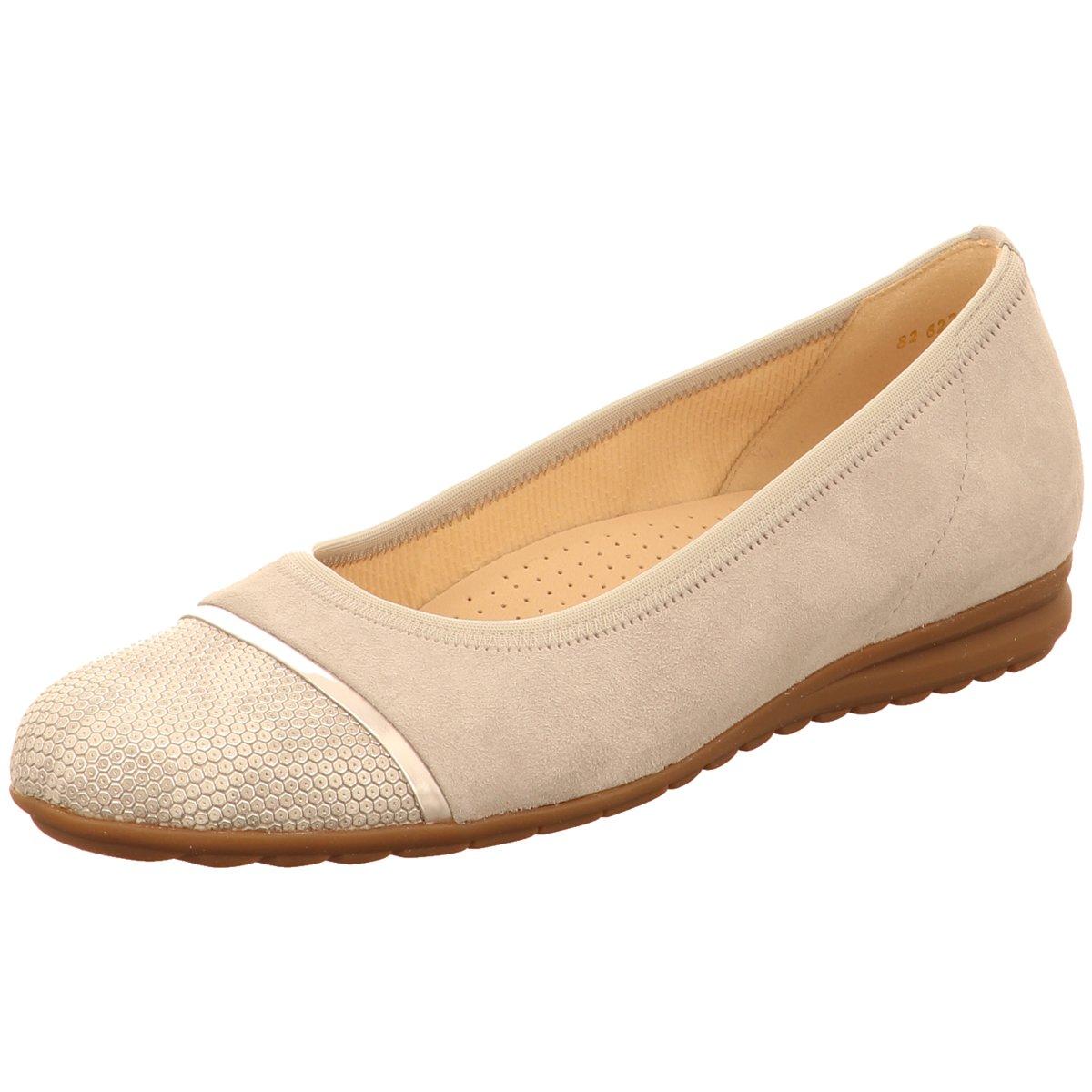 Details zu Gabor Damen Ballerinas 82.622 40 florenz beige 405642