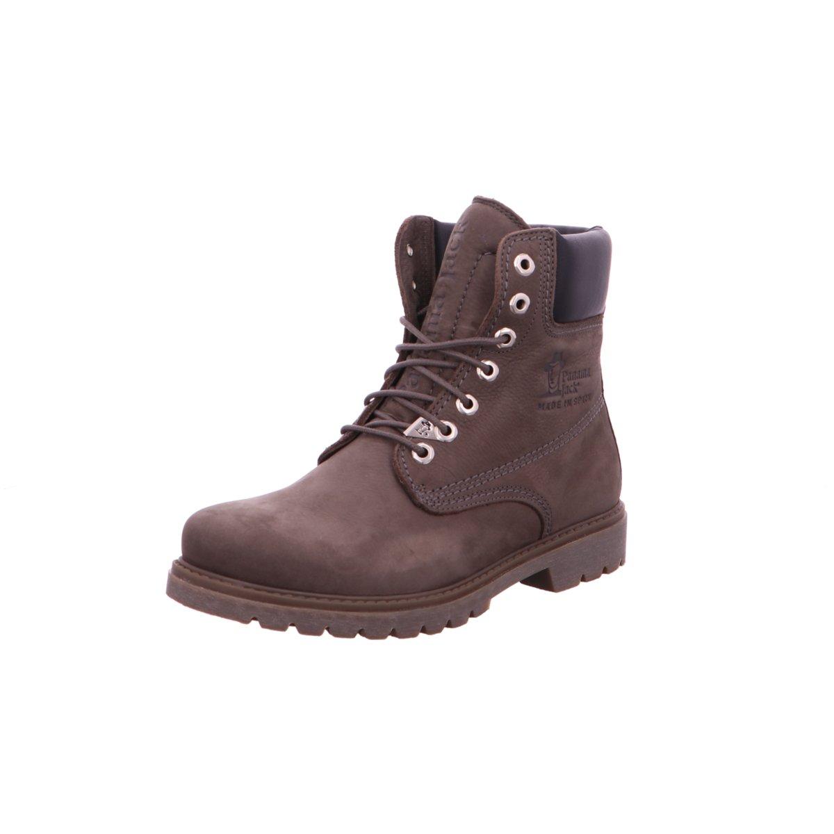 e206bb5e8226ea Panama Jack Herren Stiefel Nubuck gris Panama 03 Wool C14 grau 355490