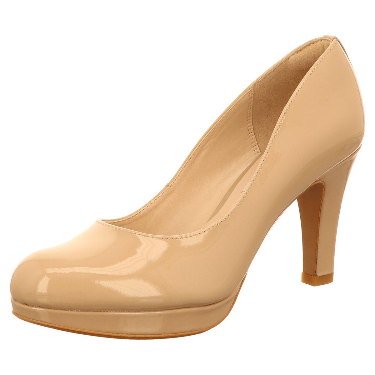 NEU Clarks Damen Pumps WOMENS 261157225 beige 298852