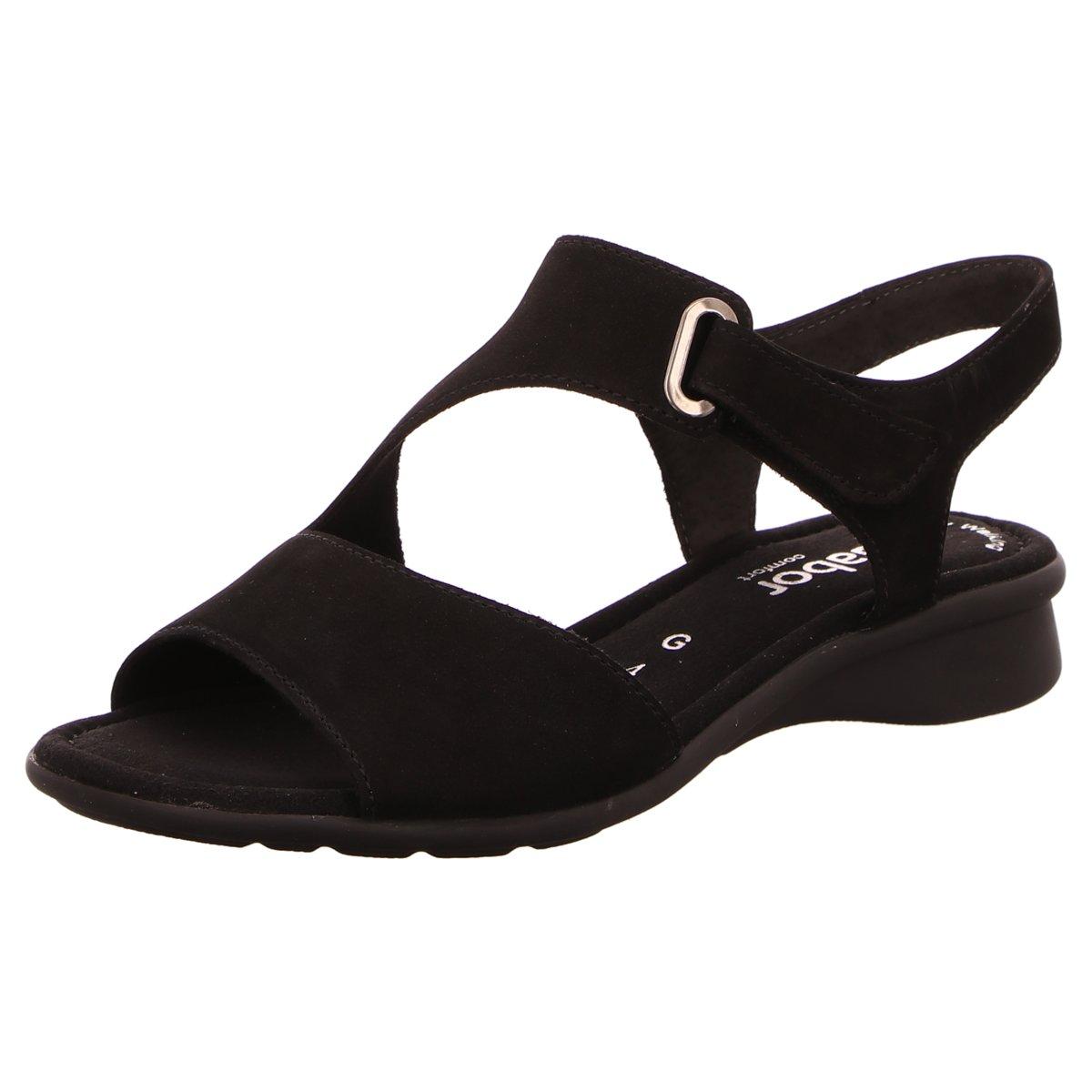 Schwarze Gabor Sandalen online kaufen | Unverzichtbar für