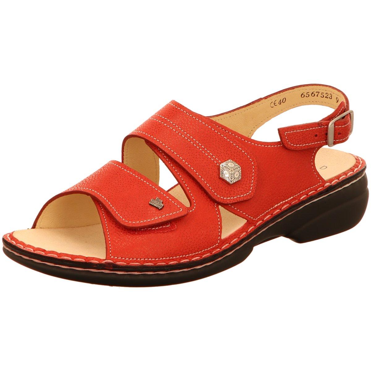 Zu Rot Finncomfort Details Sandaletten 539403 02560 308676 Damen D2IEeW9YH