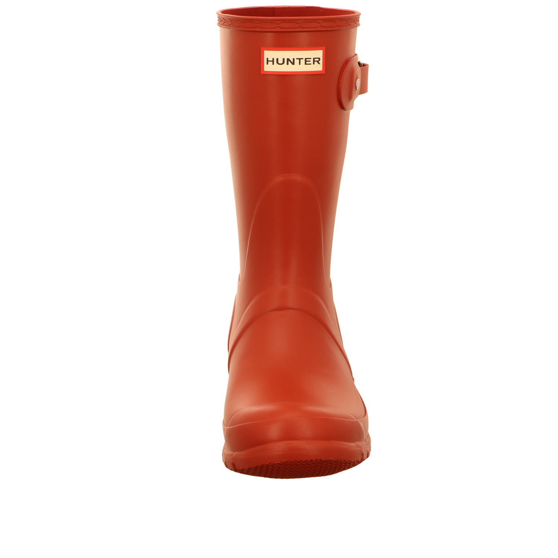NEU Hunter Damen Stiefel Original Short WFS1000RMA-MLR rot 335146