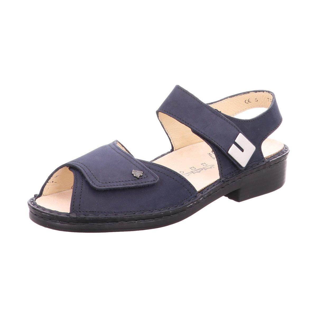 FinnComfort Damen Sandaletten Luxor Luxor 046048 blau 436657