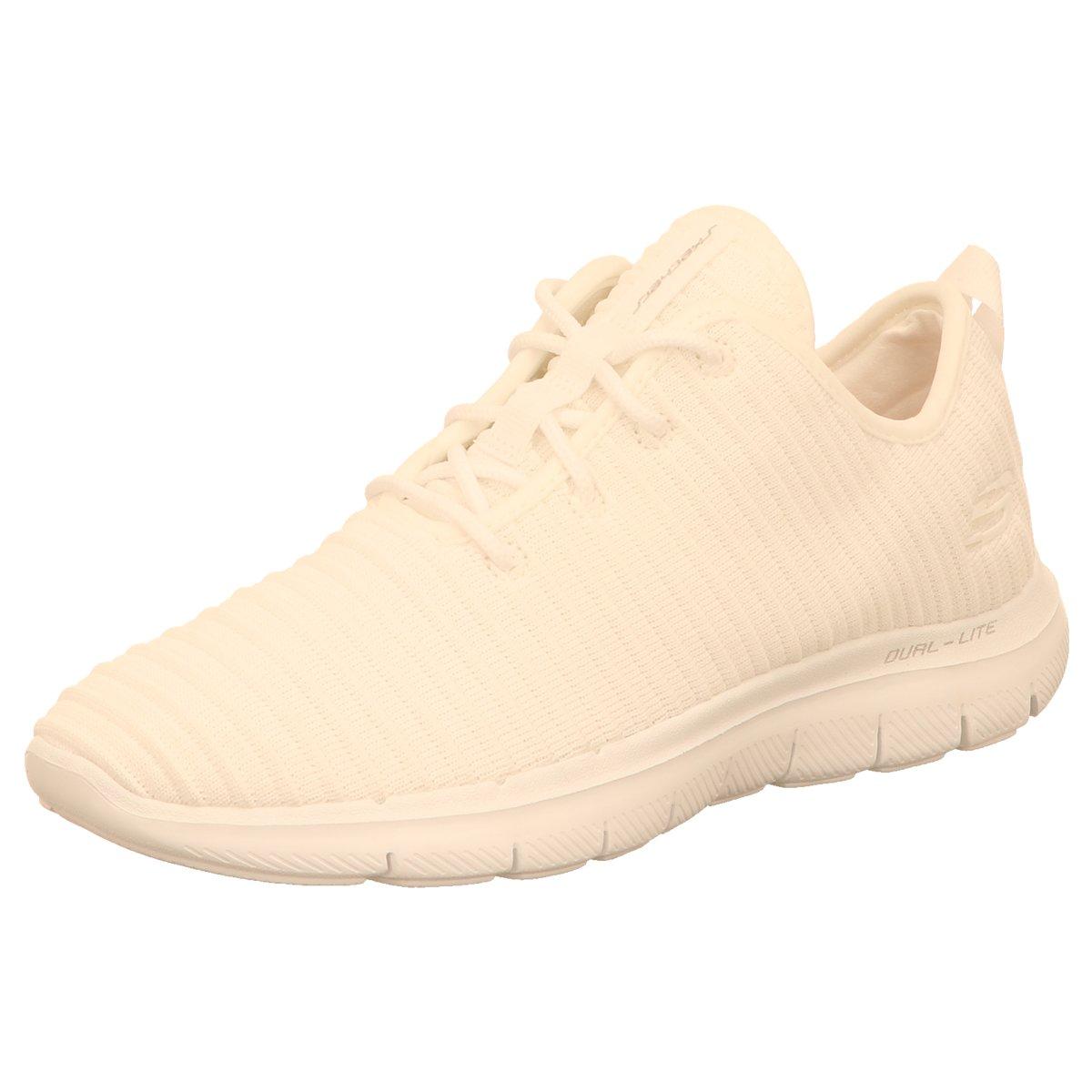 NEU Skechers Damen Sneaker FLEX BPPEBL 2.0 - ESTBTES 12899 WHT WHT weiß 407702