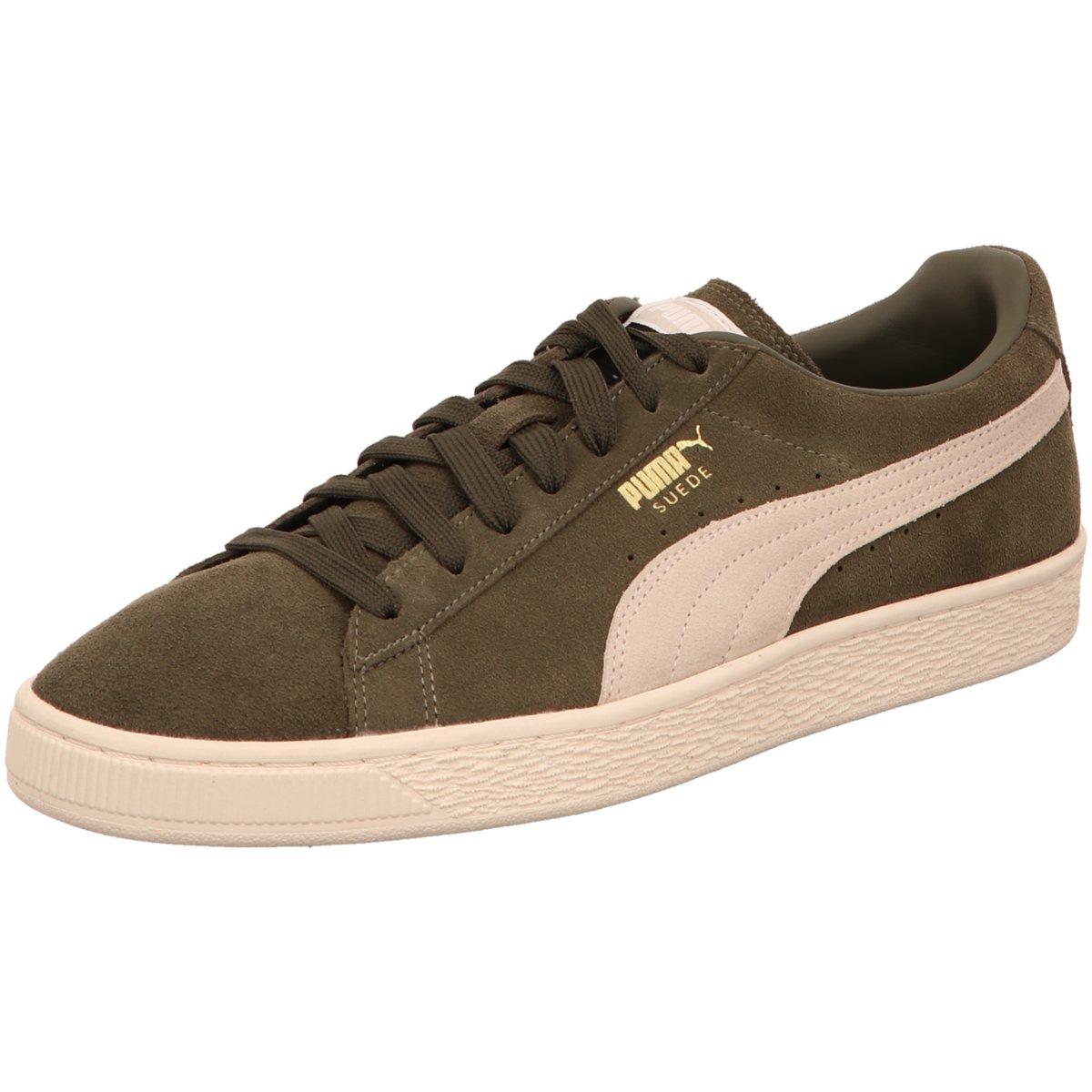 Details zu #S2K Puma Herren Sneaker Suede Classic Sneaker Herren Schuhe olive 363242 027